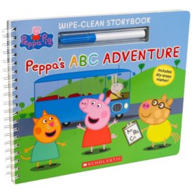 Write-On Wipe-Off Peppa Pig