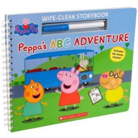 Write-On Wipe-Off Peppa Pig