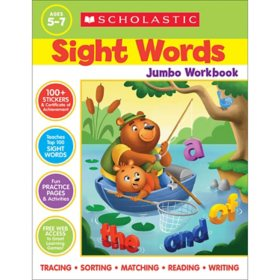 Scholastic Sight Words Jumbo Workbook : 300+ Practice Pages Targeting the Top 100 High-frequency Words