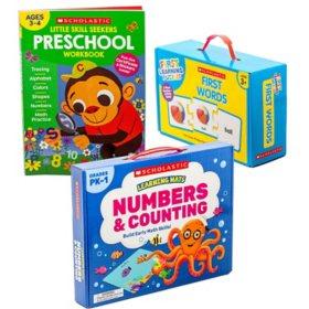 Scholastic Preschool Readiness Bundle