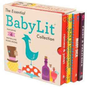 Baby Lit 4 Board Book Boxed Set