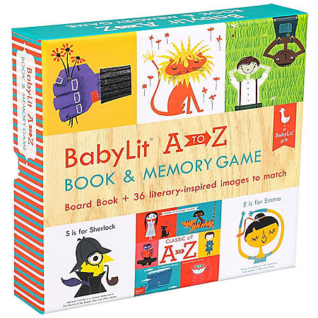 Baby Lit A to Z Lit Matching Game