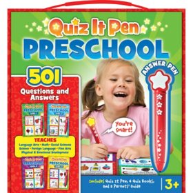 Quiz It Pen Preschool Set