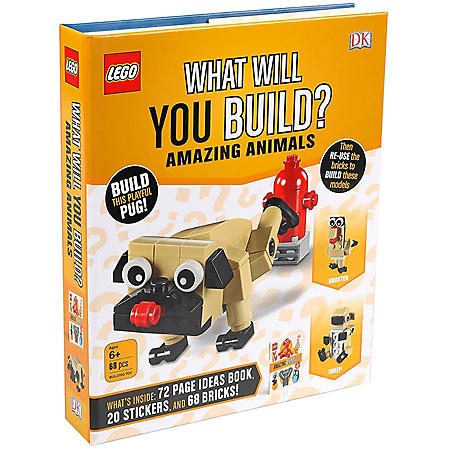 Lego Brick Amazing Animal