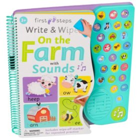 Write and Wipe Farm with Sound