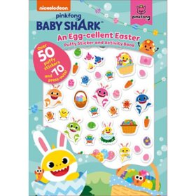 Pinkfong Baby Shark: An Egg-cellent Easter Puffy Sticker and Activity Book