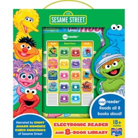Sesame Street - Me Reader Electronic Reader and 8-Book Library