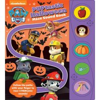 PAW Patrol - PUPtastic Halloween Maze Sound Book