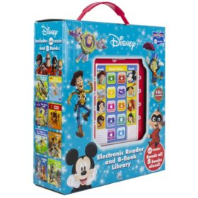 Disney - Mickey Mouse, Toy Story and More. Me Reader Electronic Reader 8 Sound Book Library
