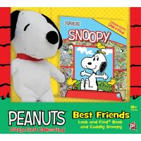 Book, Box and Plush Snoopy