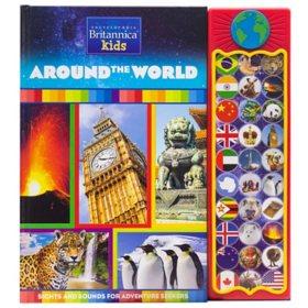 Encyclopedia Britannica Kids - Around the World 30 Button Sound Book