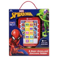 Marvel Spider-Man: 8-Book Library and Electronic Reader