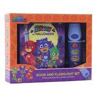 PJ Masks - Heroes on Halloween Sound Book and Flashlight Set