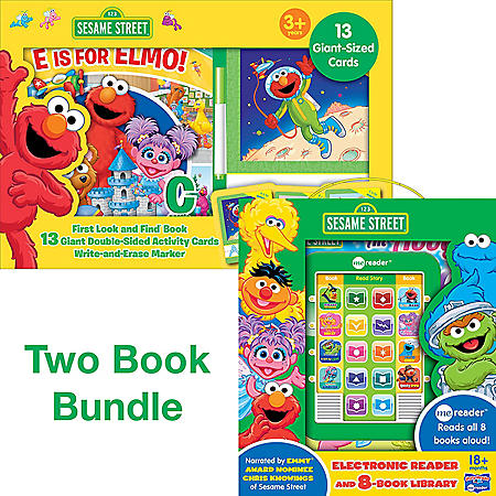 First Look and Find and Giant Cards Sesame Street