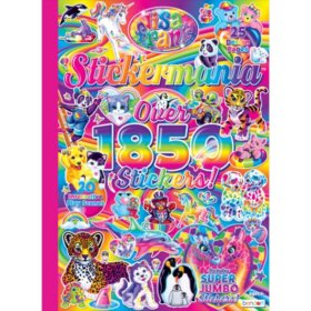 Lisa Frank Sticker Explosion