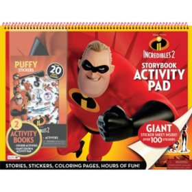 Disney Incredibles Square Floorpad