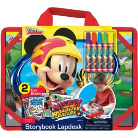 Disney Mickey Racers Storybook Desk to Go