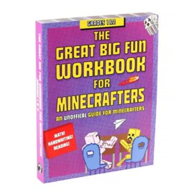The Great Big Fun Workbook for Minecrafters, Grade 1 and 2