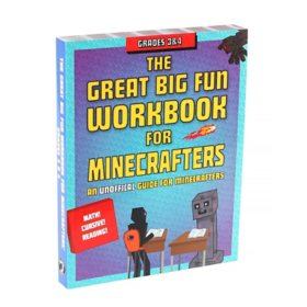 Minecraft Educational Workbook, Grades 3-4