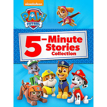 PAW Patrol 5-Minute Stories Collection