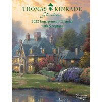 Thomas Kinkade Studios 2022 Monthly/Weekly Engagement Calendar with Scripture