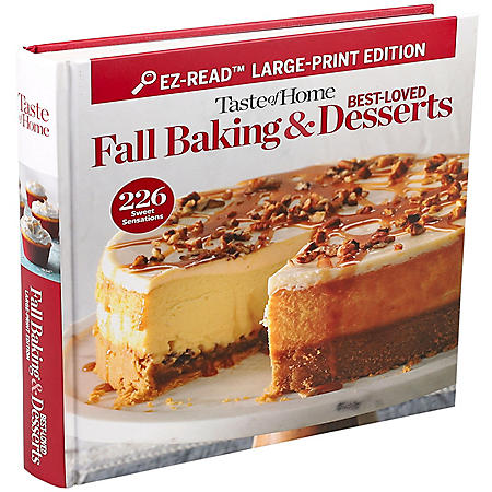 Taste of Home Easy to Read Baking Bind Up