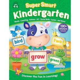Super Smart Kindergarten 352 Page Workbook with Stickers