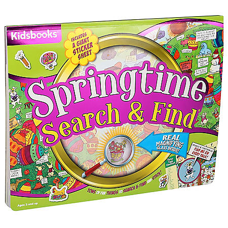 Giant Family Fun Springtime Search & Find
