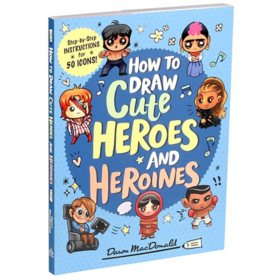 How to Draw Cute Heroes and Heroines