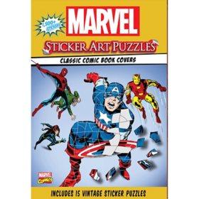 Marvel Sticker Art Puzzle