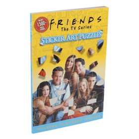 Friends Sticker Art Puzzle