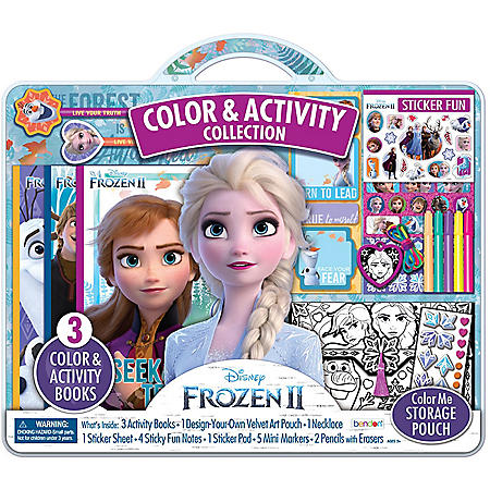 Great price on a Disney Frozen II color and activity set