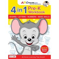 ABCMouse PreK Pre School Learn At Home Educational 320-Page Workbook