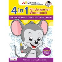 ABCMouse Kindergarten Learn At Home Educational 320-Page Workbook