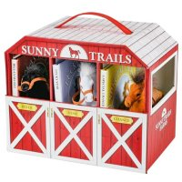 Deals on Sunny Trails Farms 3 Books & Play Horse Stable Barn Playset