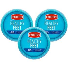 O'Keeffe's Healthy Feet (2.7 oz., 3 pk.)