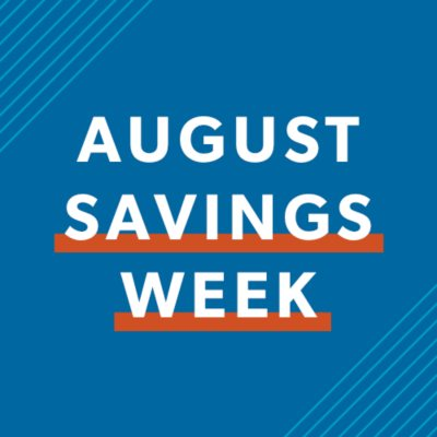 Shop All August Savings
