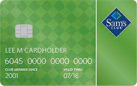 Sam's Club Credit Card benefits