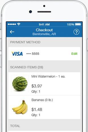 Pay via the app.