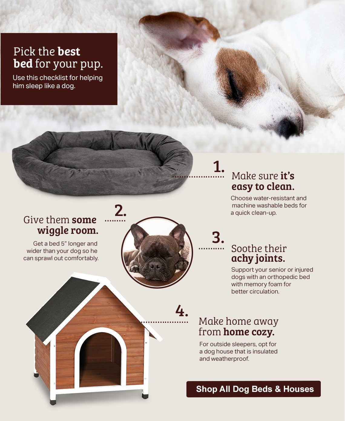 Shop Dog Beds & Houses