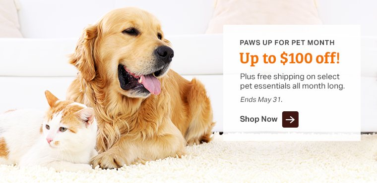 Shop Instant Savings - Pet Care