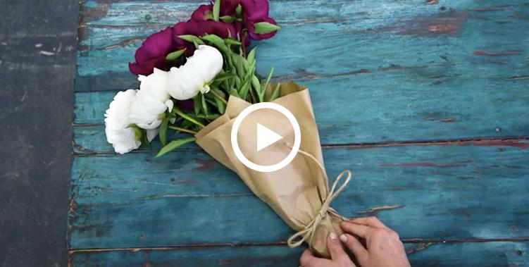 Beautiful bouquets in 60 seconds.