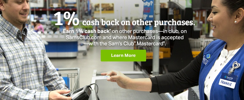 Sam's Savings - Cash back