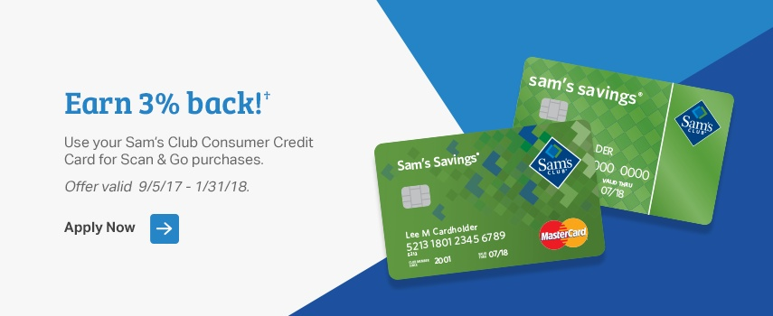 Samsclub Com Credit Login >> Sam's Club Credit
