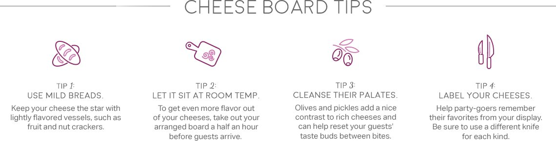 Cheese Board Tips