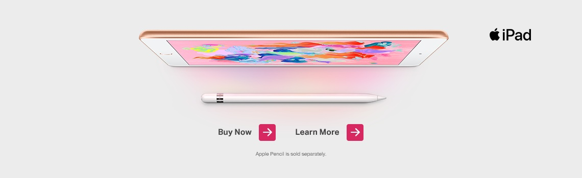 New Apple iPad - Learn More