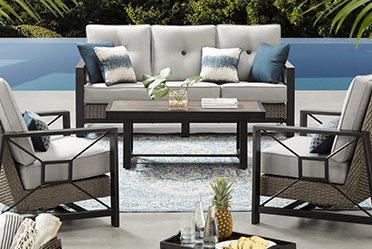 Patio furniture Pool Conversation Sets Lowes Outdoor Furniture Buying Guide Sams Club
