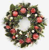 outdoor christmas dcor shop wreaths garland