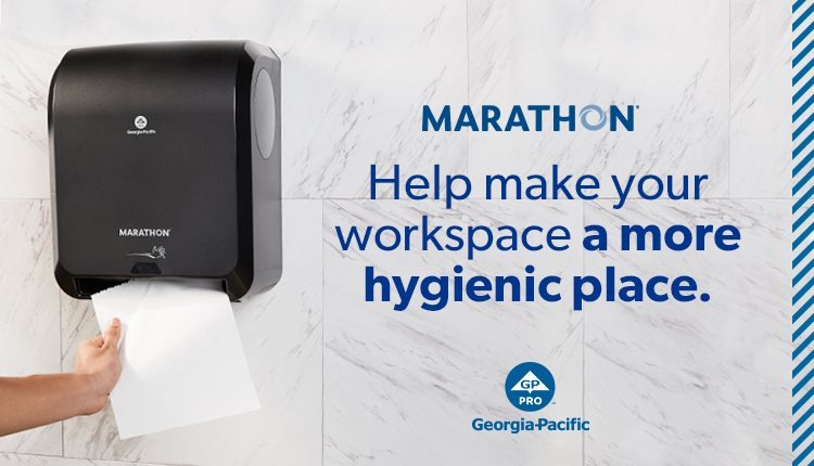 Help make your workspace a more hygienic place with Marathon.