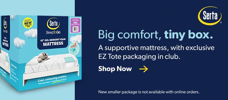 Full Size Mattresses For Sale Near You Online Sam S Club